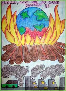 Essay on save earth from pollution